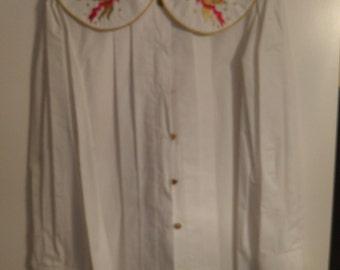 Vintage Embellished Blouse