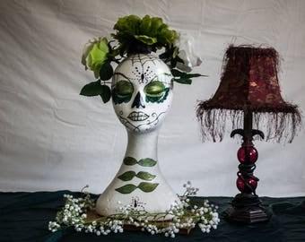 Arachnianna Mannequin Head
