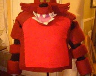 Fnaf foxy cosplay mascot costume