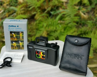 "Vintage 80s camera ""Meikai 4 shooter"" NINE"