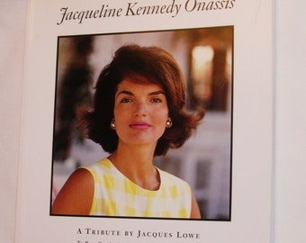 Jacqueline Kennedy Onassis A Tribute by Jacques Lowe 1995