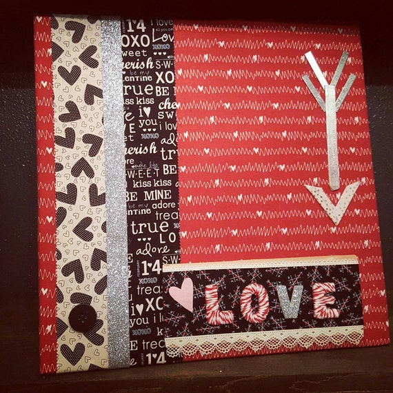 Valentine's wall art ~love is in the art~