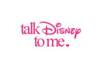 TALK DISNEY to ME; Quality Vinyl Decal, Disney Decal, Disney Yeti Decal, Disney Car Decal, Gifts for Disney addicts, Fast Shipping!