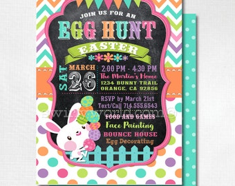 Easter party invite Etsy