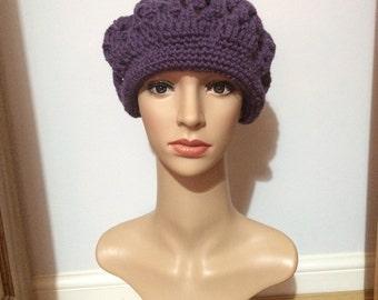Handmade Crochet Beret Hat