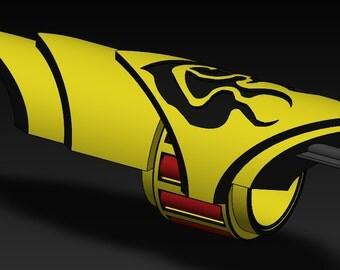 RWBY Yang's Ember Celica (1 pair)