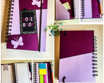 Notebook custom format personal