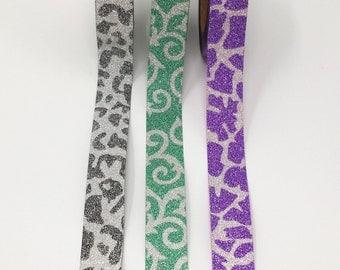 Glitter  Washi Tape Set of 3