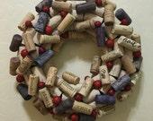 Mini Wine Cork Wreath...