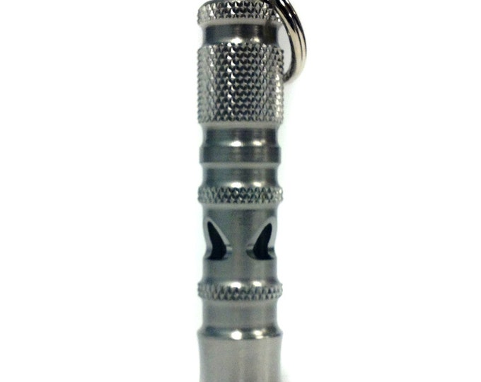 Tactical Whistle - Stainless Steel