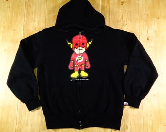 20% OFF Vintage BAPE DC Comics The Flash Bathing Ape Original Hoodie Japan