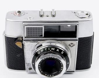 Agfa Optima II Camera with Agfa Color-Apotar 45mm f/2.8 Lens