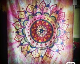 Handmade Mandala Wallhanging