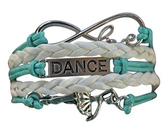 Dance Gift -Dance Bracelet – Dance Gift - Dance Charm- Dancing - Dance Recital Git- Perfect for Dancers, Dance Coaches & Dance Team Gifts