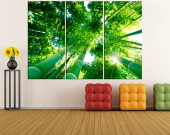 Forest photo print wall art canvas,  wall decoration, canvas art, canvas print, canvas wall art, extra large wall art, fine art print  1s31