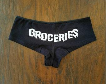Groceries Panties