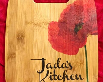 Personalized Gifts for Clients, Bamboo Cutting Board, Customized, Name Gift, Mother's Day, Wedding Gift