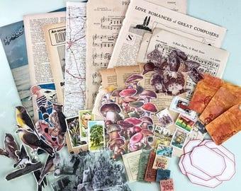 March Vintage Ephemera Bundle