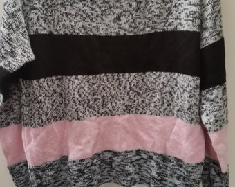 END of WINTER SALE! The pink striped grandma sweater