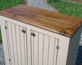 Space Efficient Rustic Sideboard