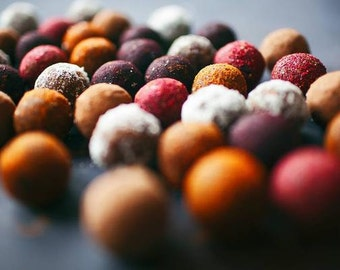 Sēklu muss  (healthy sweets made from seeds and dried fruits)