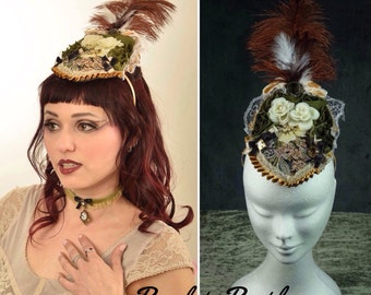 Victorian hat fascinator