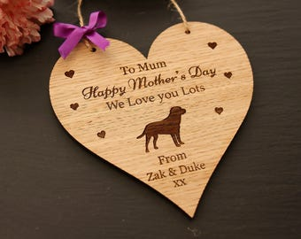 Labrador Mother's Day Gift, Mother's Day Gift from the Dog, Labrador Gift, Mother's Day Gift, Mother's Day Gift for Dog Lovers, Mother's Day