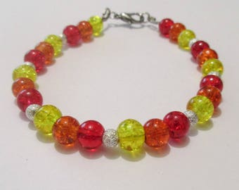 Warm Color Bracelet