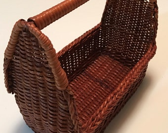 Small Vintage Basket with Handle