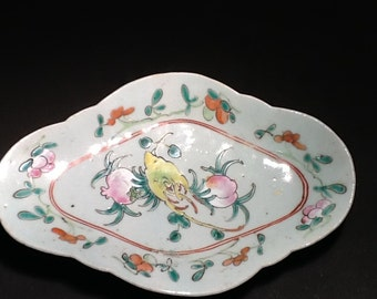Chinese Porcelain Footed Dish
