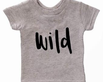 Items Similar To Wild One Tee Child T Shirt Tee