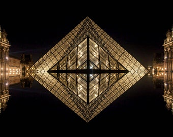 The eye of the Louvre