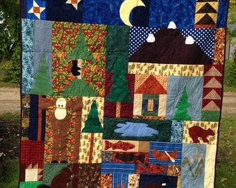 OH Canada Homemade Quilt