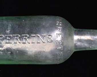 Lea & Perrins Worcestershire Sauce Bottle Early 1900's