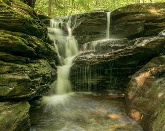 Waterfall (2) - Ricketts Glen State Park - Pennsylvania