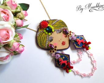 Necklace Diseuse de Bonne-aventure By Mouchkine / bohochic & trendy jewels