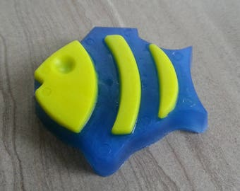 Fish Soap, Sea Animal, Finding Nemo Theme, Beach Soap, Bath Gift for Kids, Sea Creature Soap, Ocean Theme Soap, Novelty Glycerin Soap (3 oz)