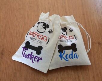 Personalised Doggie treat bags