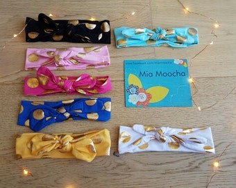 Headbands - Handmade Custom Made to Order | More Colours | Mia Moocha | Different styles