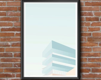 50 x 70 poster graphic design poster illustration ArchiEtage architecture