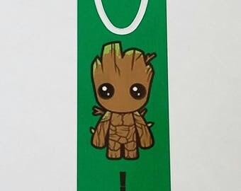 I Am Groot Metal  Bookmark