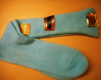 VINTAGE Pair Of Socks From 60's     by METROSHIRE   Never Worn,  Still With All Tags On  Sale Price was 22 cents