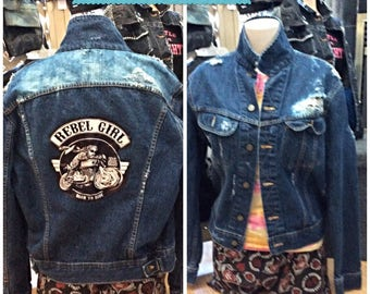 UNIQUE Here is one of a kind jacket that is for sale!