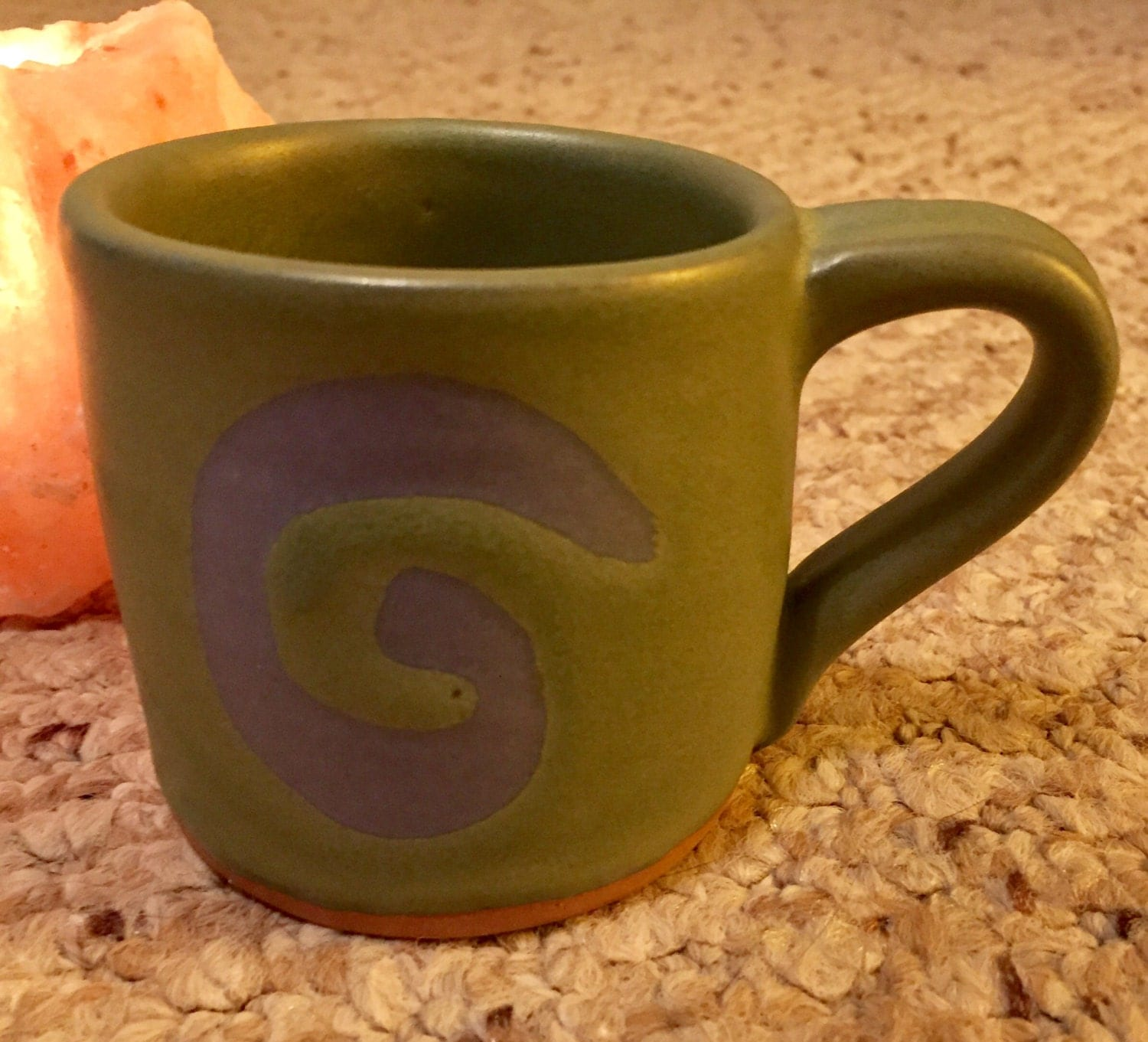 Sale Swirl Unique Handmade Small Coffee Mug Espresso Mug
