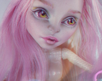 OOAK Viperine Gorgon doll