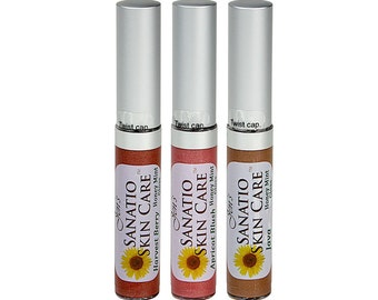 Tinted Lip Gloss Warm Color Combo Pack