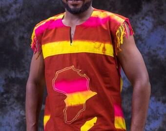 African Batik Jumper