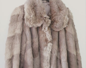 Warm and lovely fur coat SALE
