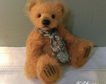 "Artist bear ""Caspar"",one of a kind handmade bear"