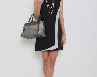 Shelley Black Shift Dress